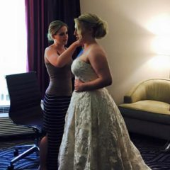 Wedding party makeup in Ulster County