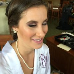 Bridal makeup Hudson Valley